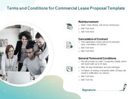 Terms And Conditions For Commercial Lease Proposal Template Ppt Powerpoint Presentation Portfolio Example File