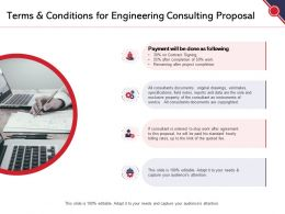 Terms And Conditions For Engineering Consulting Proposal Ppt Powerpoint Presentation Pictures