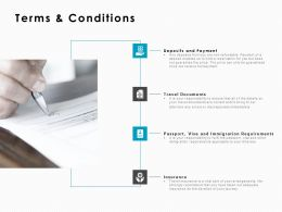 Terms And Conditions Insurance Ppt Powerpoint Presentation Inspiration Rules