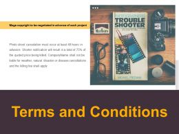 Terms And Conditions Management L524 Ppt Powerpoint Presentation Icon