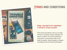 Terms And Conditions Management L539 Ppt Powerpoint Presentation Infographics