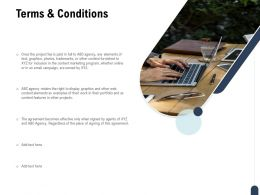 Terms And Conditions Marketing Technology Ppt Powerpoint Presentation Pictures Microsoft