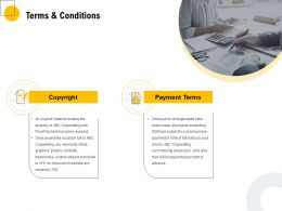 Terms And Conditions Payment Ppt Powerpoint Presentation Infographics