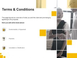 Terms And Conditions Payments Ppt Powerpoint Presentation Summary Background