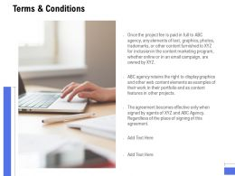 Terms And Conditions Planning Ppt Powerpoint Presentation Show Elements