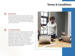 Terms And Conditions Ppt Powerpoint Presentation Icon Influencers