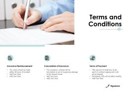 Terms And Conditions Ppt Powerpoint Presentation Icon Shapes