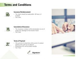Terms And Conditions Ppt Powerpoint Presentation Ideas Background Images