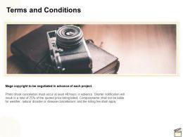 Terms And Conditions Ppt Powerpoint Presentation Ideas Shapes