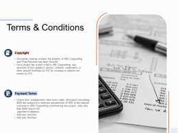 Terms And Conditions Ppt Powerpoint Presentation Infographic Template