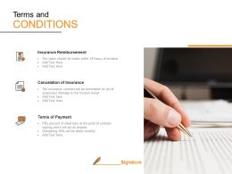 Terms And Conditions Ppt Powerpoint Presentation Model Maker
