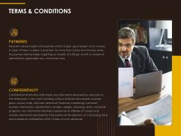 Terms And Conditions Ppt Powerpoint Presentation Slides Sample