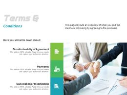 Terms And Conditions Ppt Powerpoint Presentation Styles Backgrounds