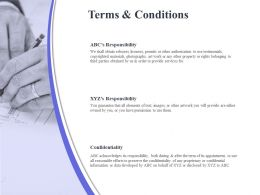 Terms And Conditions Ppt Powerpoint Presentation Styles Images