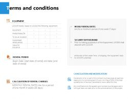 Terms And Conditions Process J245 Ppt Powerpoint Presentation File Icon