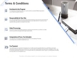 Terms And Conditions Processing Ppt Powerpoint Presentation Styles Templates