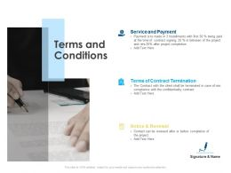 Terms And Conditions Renewal Ppt Powerpoint Presentation Slides Graphics