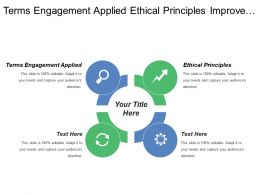 Terms Engagement Applied Ethical Principles Improve Shareholder Value