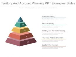 Territory And Account Planning Ppt Examples Slides