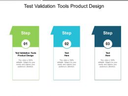 Test And Validation Tools Product Design Ppt Powerpoint Presentation Styles Ideas Cpb