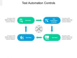 Test Automation Controls Ppt Powerpoint Presentation File Rules Cpb