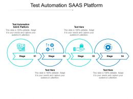 Test Automation SAAS Platform Ppt Powerpoint Presentation Portfolio Ideas Cpb