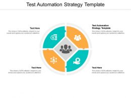 Test Automation Strategy Template Ppt Powerpoint Presentation Portfolio Guidelines Cpb