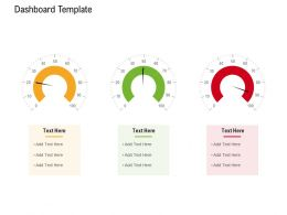 Test Automation With Selenium Dashboard Template Ppt Powerpoint Presentation Inspiration