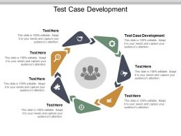Test Case Development Ppt Powerpoint Presentation Infographic Template Ideas Cpb