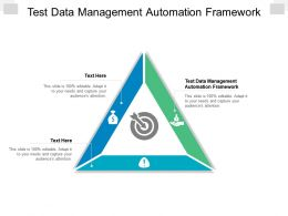 Test Data Management Automation Framework Ppt Powerpoint Presentation Gallery Cpb