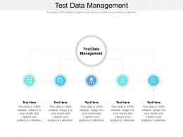 Test Data Management Ppt Powerpoint Presentation Outline Graphics Cpb