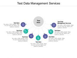 Test Data Management Services Ppt Powerpoint Presentation File Slide Download Cpb
