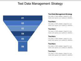 Test Data Management Strategy Ppt Powerpoint Presentation Infographic Template Diagrams Cpb