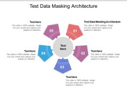 Test Data Masking Architecture Ppt Powerpoint Presentation Gallery Designs Cpb