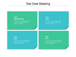 Test Data Masking Ppt Powerpoint Presentation Model File Formats Cpb