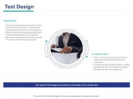 Test Design Ppt Powerpoint Presentation Inspiration Tips