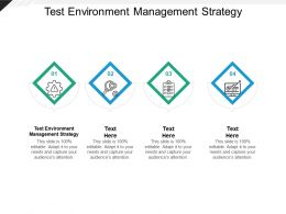 Test Environment Management Strategy Ppt Powerpoint Presentation File Graphics Template Cpb