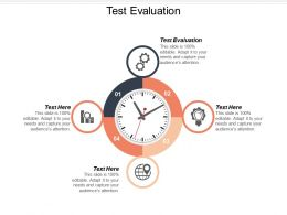 Test Evaluation Ppt Powerpoint Presentation Ideas Elements Cpb