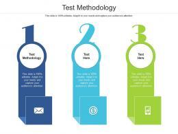 Test Methodology Ppt Powerpoint Presentation Ideas Portrait Cpb