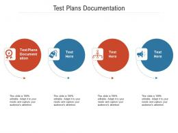 Test Plans Documentation Ppt Powerpoint Presentation Visuals Cpb