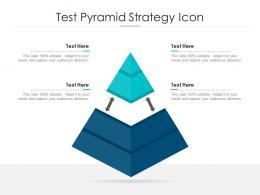 Test Pyramid Strategy Icon
