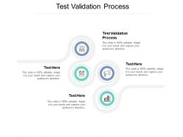 Test Validation Process Ppt Powerpoint Presentation Ideas Deck Cpb