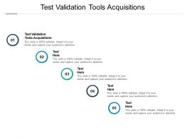 Test Validation Tools Acquisitions Ppt Powerpoint Presentation Outline Display Cpb