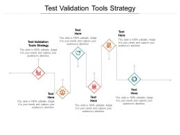 Test Validation Tools Strategy Ppt Powerpoint Presentation Inspiration Slide Portrait Cpb