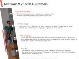 Test Your MVP With Customers See Which Ppt Powerpoint Presentation File Graphic