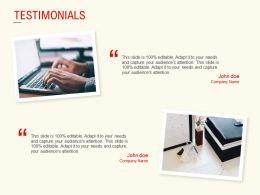 Testimonials Management L540 Ppt Powerpoint Presentation Model Backgrounds