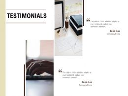 Testimonials Management L555 Ppt Powerpoint Presentation Show Files