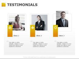 Testimonials Teamwork Ppt Powerpoint Presentation Pictures Slide Download