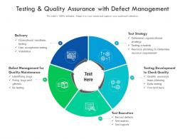 Testing And Quality Assurance With Defect Management