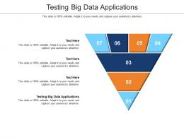 Testing Big Data Applications Ppt Powerpoint Presentation Professional Layout Ideas Cpb